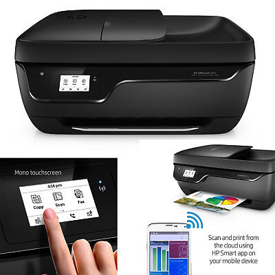 HP OfficeJet All-in-One Printer Scanner Copier Fax Printing Wireless Touchscreen