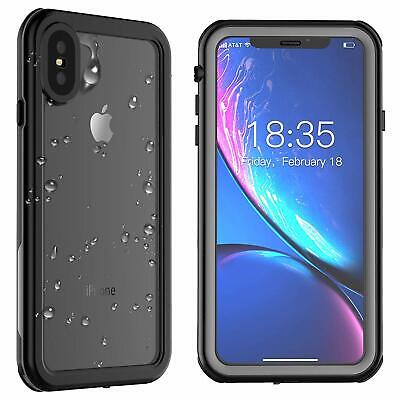 Plus Life (For Apple iPhone XR XS X 7 8 6S Plus Life Waterproof Case Shockproof XS MAX )