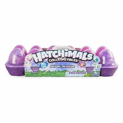 Hatchimals CollEGGtibles,  12 Pack Easter Egg Carton with Exclusive Season 4 Hat