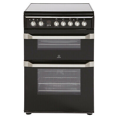Indesit Freestanding ID60C2K 60cm Electric Cooker A Rated - Black