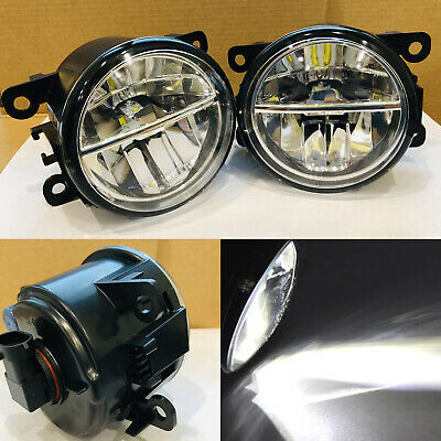 Led Lights For Glasses (2pcs LED Fog Lights Assembly with glass reflector for Suzuki Grand Vitara Jimny)