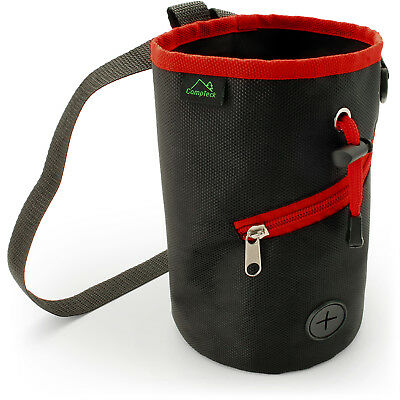 Chalk Bag for Rock Climbing Bouldering Gymnastics Weightlifting with Waist Belt