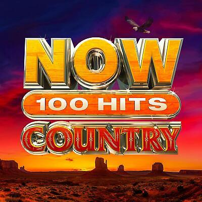NOW 100 Hits Country - Various [CD] Sent Sameday*