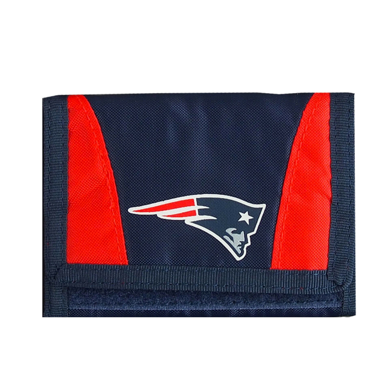 New Licensed Football New England Patriots Wallet Nylon Tri-