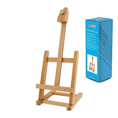 "US Art Supply 11"" Wood Studio Adjustable Artist H-Frame Table Easel Painting"