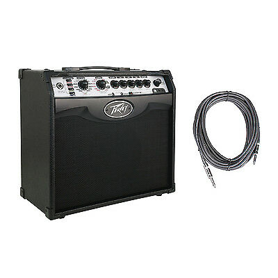 Peavey Vypyr VIP 1 Combo Modeling Guitar Amp 20 Watt Amplifier + 10' Cable