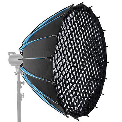90cm Hexadecagon Parabolic Softbox with Grid and Carrying Bag