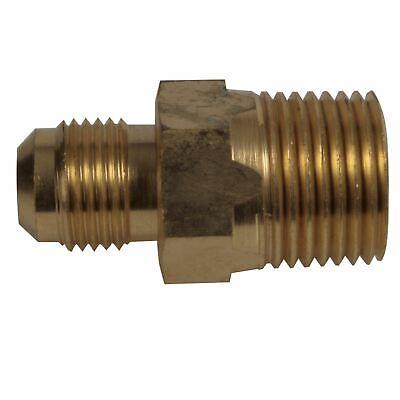 Brass Male Flare (Brass: Male Flare x Male NPT)