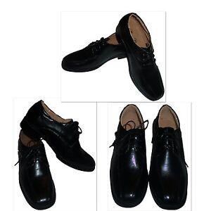 Kinderschuhe festliche Jungen Baby Hochzeit Party Anzug Schuhe schwarz Grösse 25