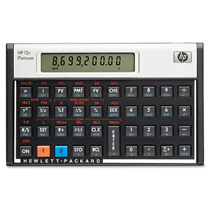 hp 12c platinum calculator ebay rh ebay com HP 12C Manual Decimal HP 12C Problems