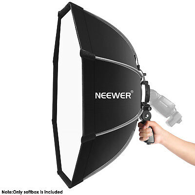 Neewer 26 inches Octagonal Softbox with S-type Bracket Mount for Canon Nikon