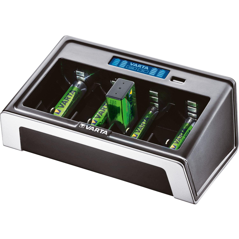 Universal Batterie Akku Ladegerät Ni-MH AAA Micro AA Mignon D Mono C Baby 9V USB