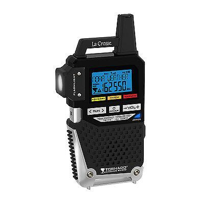 810-163TWR La Crosse NOAA Weather Alerts & AM/FM Radio with LED Flashlight