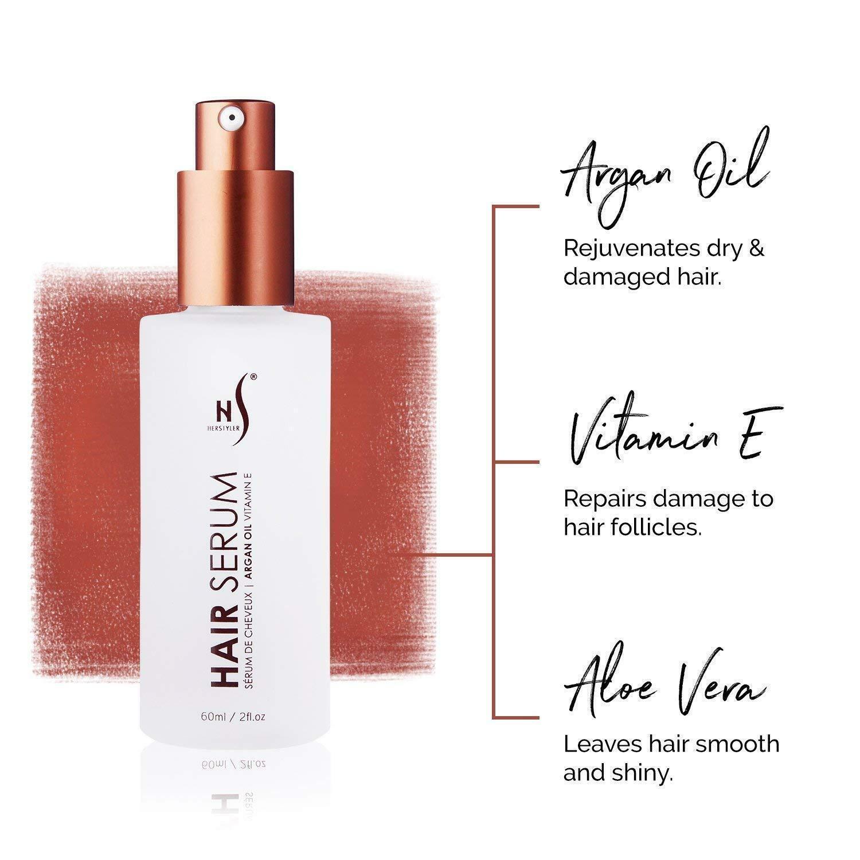hair repair serum with argan oil