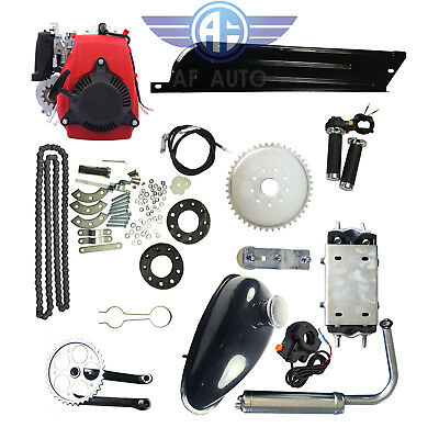 49CC 4-Stroke Motorized Push Bike Motorised Bicycle Petrol Gas Motor Engine Kit