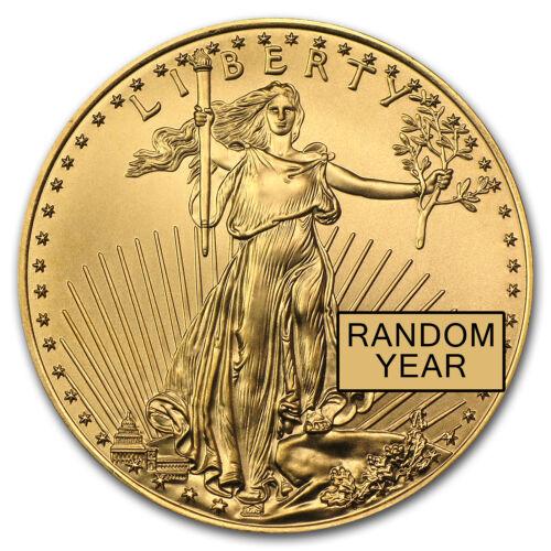1oz Gold American Eagle Coin Random Year BU - SKU #84672