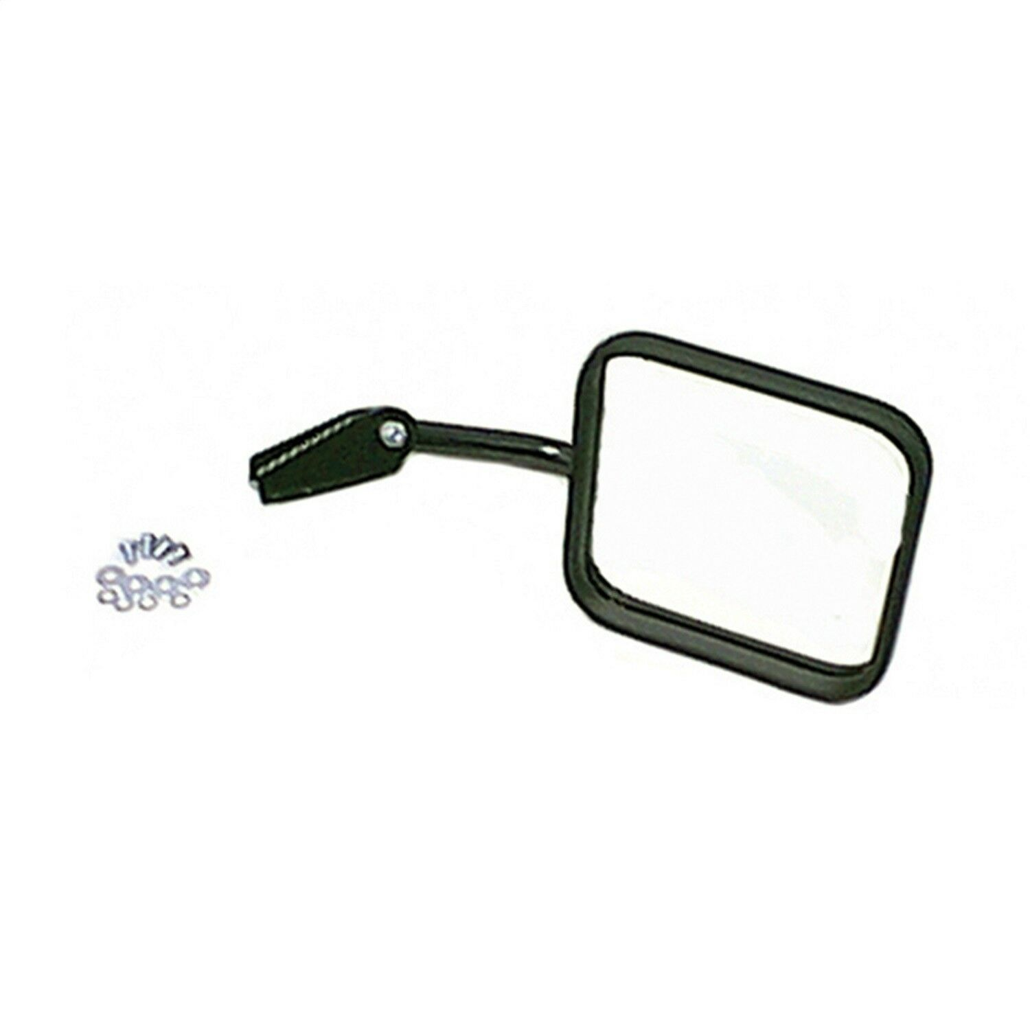 Black Right Side Mirror And Arm for Jeep CJ 1958-1986