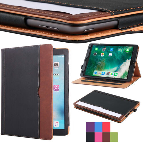 2020 Apple iPad Case 7th Generation 10.2″ Soft Leather Smart Cover Wallet Folio Cases, Covers, Keyboard Folios