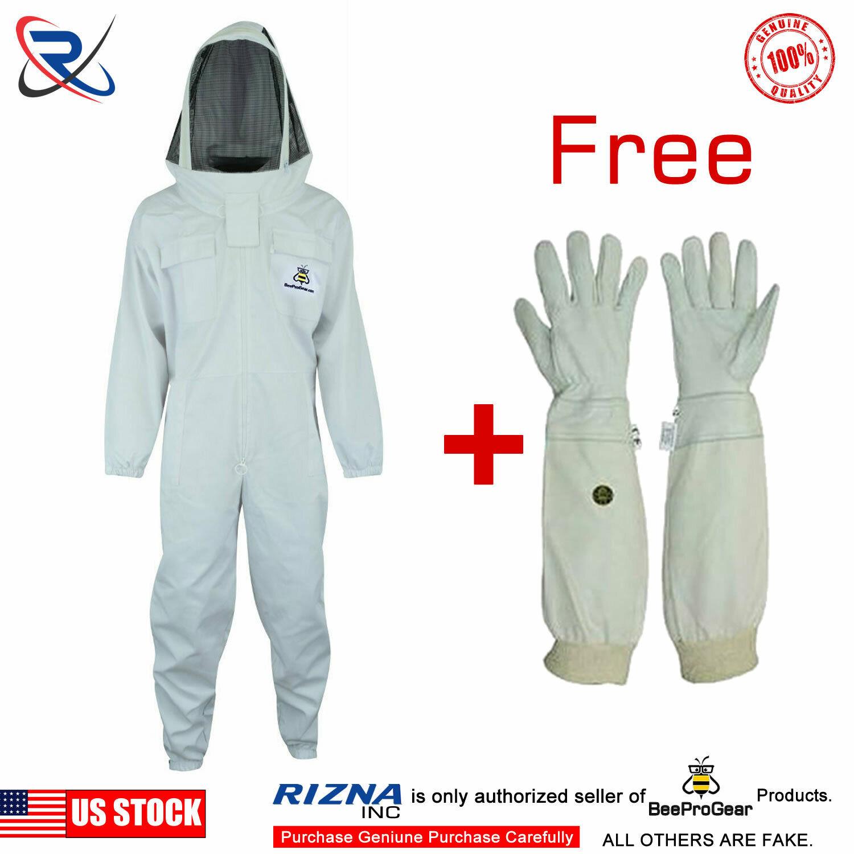 Professional Beekeepers Bee Full Suit Beekeeping Ventilated Veil Protective XXL