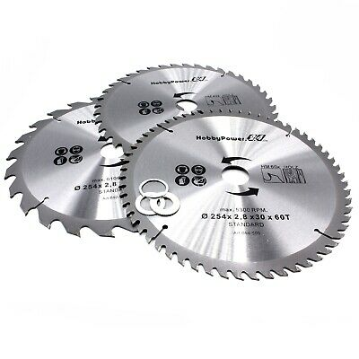 3x Set Hm Circular Saw Blades Saw For Metabo Table Saw Ts 1010x1 316in