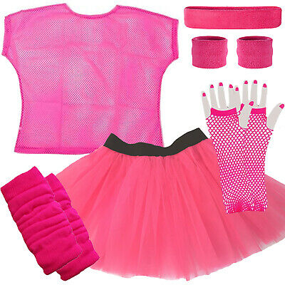 Pink Tutu Skirt Adult 80's Race for Life Fancy Dress Hen Do party costume outfit - Adult Tutu Outfits