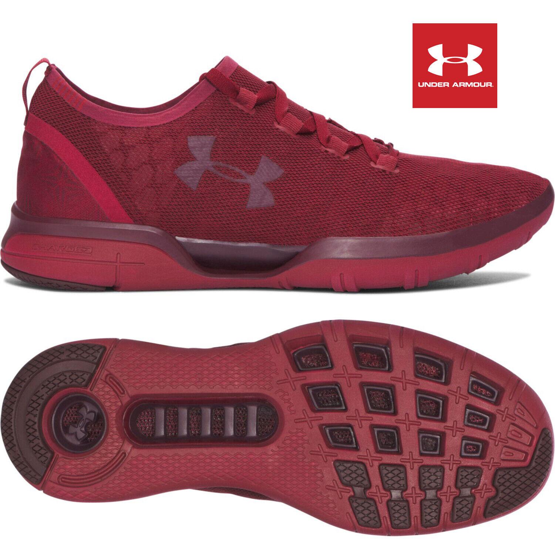 Under Armour Herren Schuhe Rot Laufschuhe Sportschuhe Trainingsschuhe Running