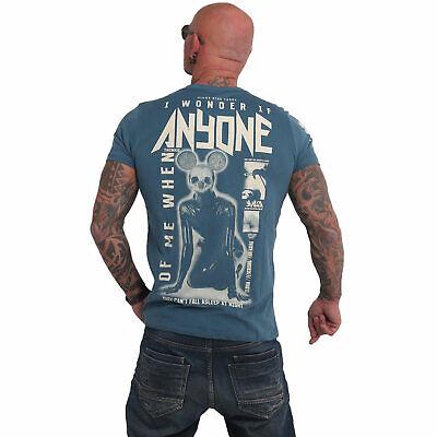 Neues Yakuza Herren Anyone T-Shirt – Mallard Blue - Gr. L