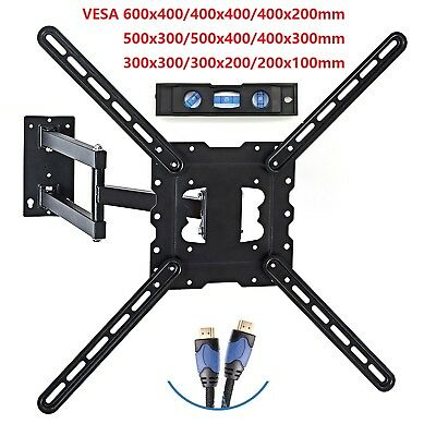 Full Motion Tilt Swivel TV Wall Mount 26 29 32 39 42 46 48 50 55