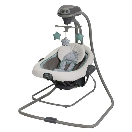 Graco Baby DuetConnect LX Swing and Bouncer 2 in 1 in Manor