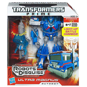 NEW TRANSFORMERS PRIME ROBOTS IN DISGUISE VOYAGER ULTRA MAGNUS AUTOBOT