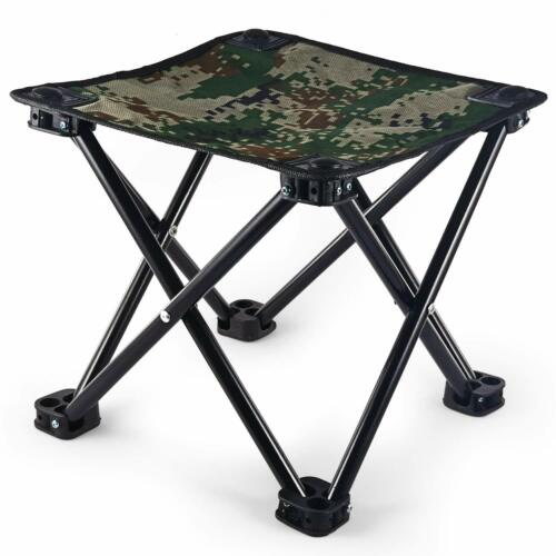 Poit Mini Folding Camping Stool Portable Camping Fishing Chair 441lbs Weight