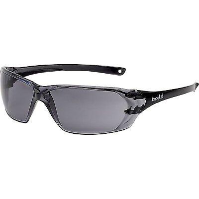 Bolle Prism Safety Glasses Anti Scratch Anti Fog SMOKE Lens PRIPSF
