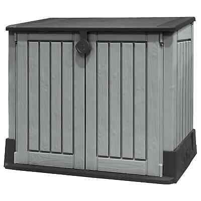 Keter 17197253 Store-It-Out Midi Outdoor Plastic Garden Storage Shed -...
