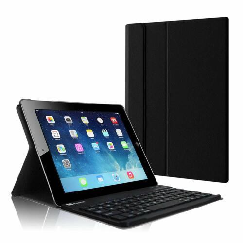 For Apple iPad 4/3/2 9.7'' Slim Case Stand Cover + Detachabl