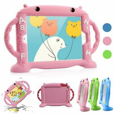 Cartoon Case For Apple iPad mini 1 2 3 5 4 Kids Safe Silicone Robot Heavy Duty