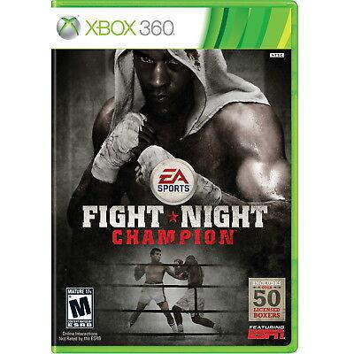 Fight Night Champion Xbox 360 [Brand New]