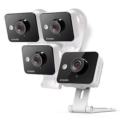 Zmodo Wireless Two-Way Audio HD Home Security Camera (4 Pack) w/ IR Night (Wireless Two Way Audio)