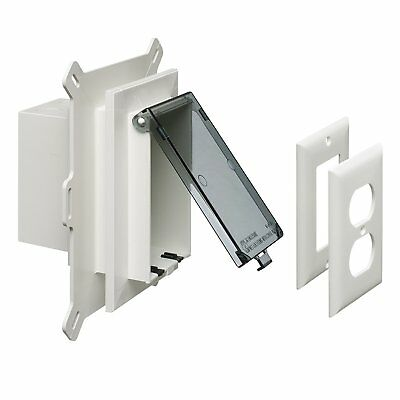 Arlington DBVS1C Vertical Recessed INBOX Electrical Box - Pack of 4