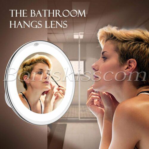 10X Magnifying Makeup Mirror Vanity Bathroom 360° Rotation
