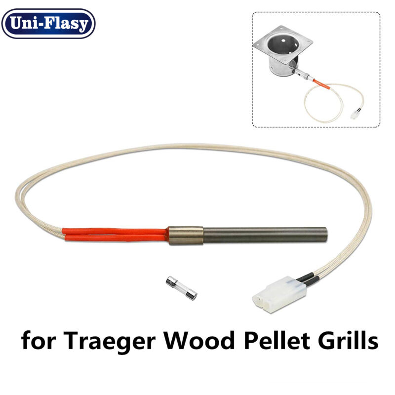 Replacement Grill Parts Hot Rod Ignitor Core Kit for Traeger Wood Pellet Grills