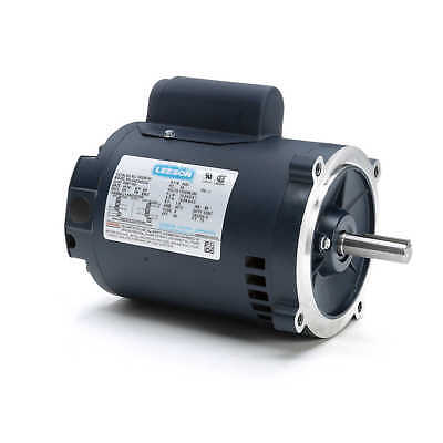 Leeson Electric Motor E100055.00 34 Hp 3450 Rpm 1ph 115230 Volt S56c Frame