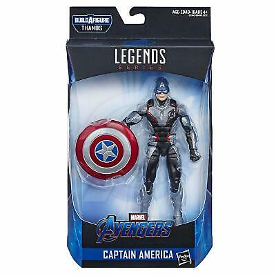 "Marvel Legends Avengers CAPTAIN AMERICA 6"" Action Figure Thanos BAF 2019 Wave 1"