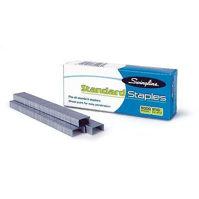 Swingline Standard Staples 14 Length 210 Per Strip 5000box 5 Boxes  N