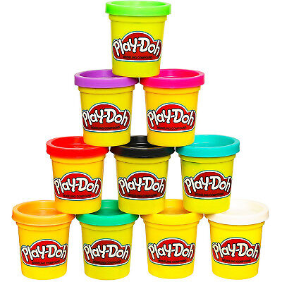 Play-Doh Modeling Compound 10-Pack Case of Colors, Non-Toxic, Assorted Colors