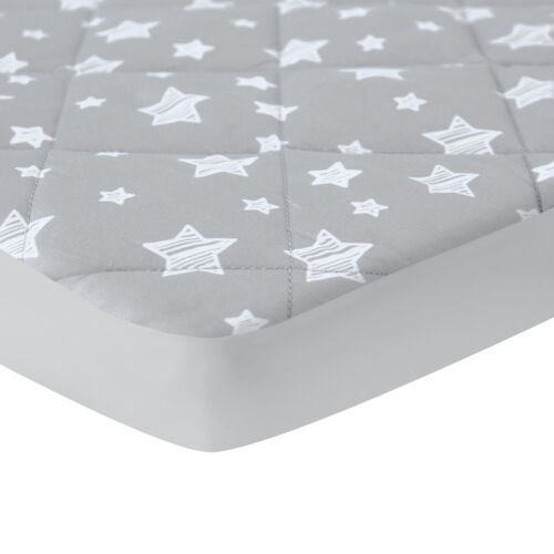 """Pack N Play Mattress Pad Cover Printed Mini Crib Quilted Playpen Pad 39""""×27"""""""