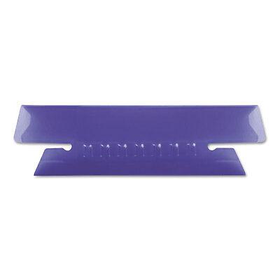 Pendaflex Hanging File Folder Tabs 13 Tab 3 12 Inch Violet Tabwhite Insert 25