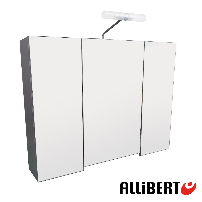 Allibert Badezimmer Schrank Licht Spiegel Hängeschrank