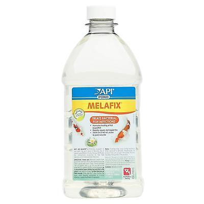 API Pond Melafix Fish Bacterial Infection Remedy, Safe for Pets, 1.89 Litre NEW