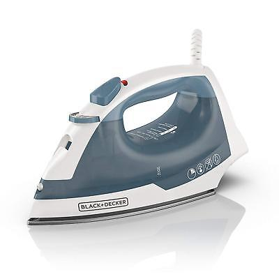 Electric Steam Iron For Clothes Dry  Portable Handheld Press Compact Heavy Duty