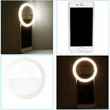 Neewer White 36 LED Clip-on Rechargable Selfie Cellphone Ring Light for iPhone